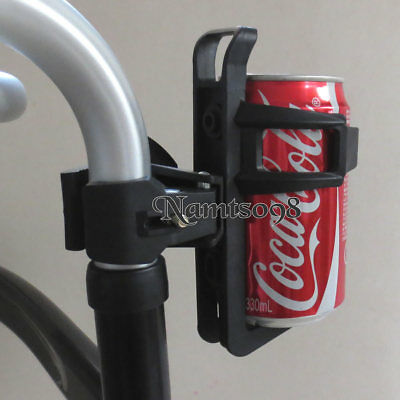 Water Bottle Cup Holder Cage clamp/Wheelchair Walker Stroller Bicycle crutch