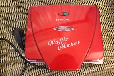 Waffle  Maker Silver Crest Party Time