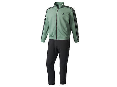 Tuta Uomo Adidas  Bk4076  Co Relax Ts Green/black