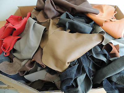 Leather pieces for Baby slippers Cowhide Faux leather Thick 1,4 1,6 mm colourful