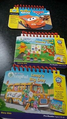 My First Leap Pad Books X3