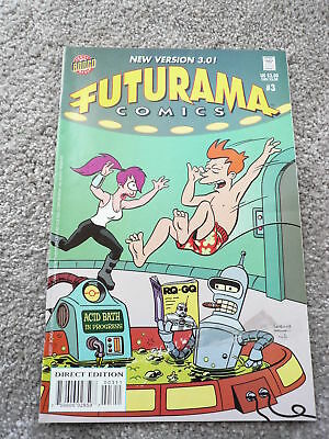 Futurama Comics Issue 3 Good Condition As Picture