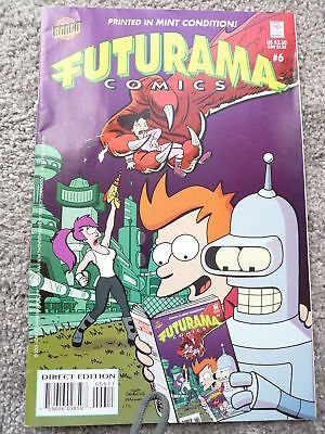 Futurama Comics Issue 6 Good Condition As Picture