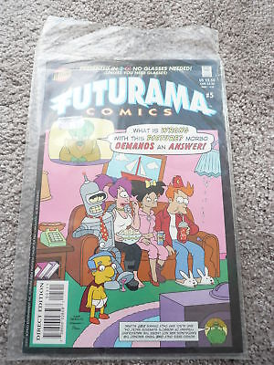 Futurama Comics Issue 5 Good Condition As Picture
