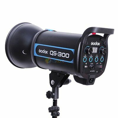 GODOX QS-300 300W Studio Strobe Flash Light Lighting Photography Shooting 220V
