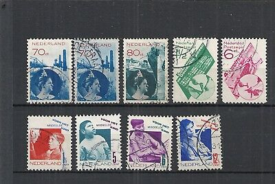 Lot Netherlands old used                  A4