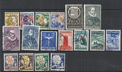 Lot Netherlands old used                  A5