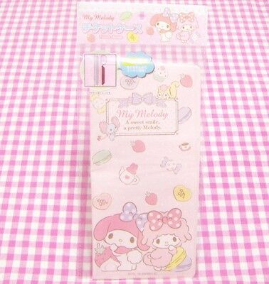 Sanrio My Melody Piano Pink PVC Ticket Card Holder Case  / Japan 2016