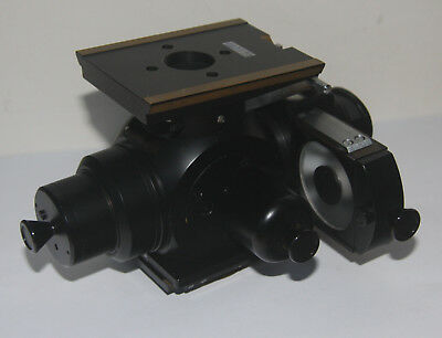 Zeiss Jena Microscope Epi Nosepiece for Nu with DF & Pol filters & Object Holder