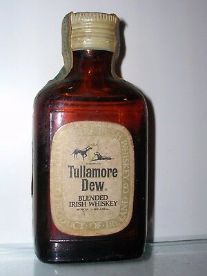 MINIATURA COLLECTION WHISKY TULLAMORE DEW 70 proof