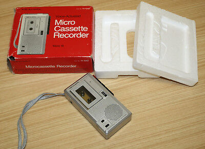 Realistic Voice Actuated Micro Cassette Recorder