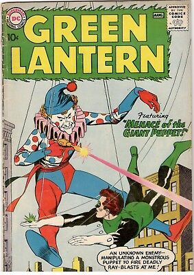 Green Lantern No.1; Dc/ 1960; Good/very Good.lovely Key Silver Age..