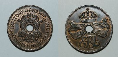 New Guinea Penny 1936 - Attractive Grade