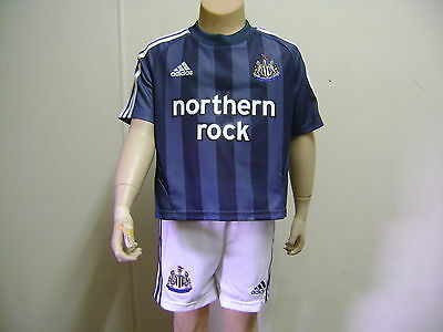 Newcastle Utd Official Away Kit 05/06 New Suit 2-3 Yrs Trusted Powerselller