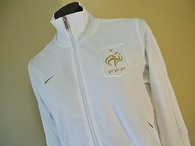 France White Official Licensed Nike N98 Jacket Mens Large New
