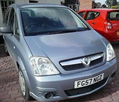 Vauxhall Meriva Life A/C CDTI 2008 Low Mileage Great condition