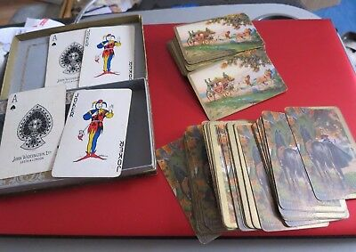 Rare Vintage Boxed Waddington's Playing Cards Barribal Claude Duvall The Duchess