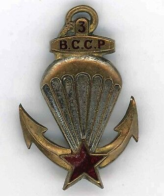 3 BCCP Indochine Insigne estampé