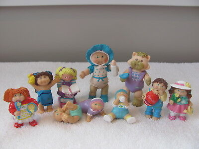 Lot of 10 Vintage Cabbage Patch Kid Poseable & miniature PVC figures ~ Koosa