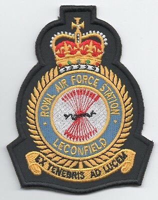 Royal Air Force Station Leconfield crest patch