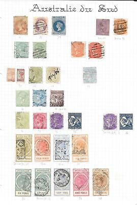 South Australia Collection of 32 CLASSIC stamps HIGH VALUE!