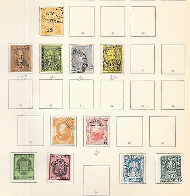 Mexico stamps Collection of 11 CLASSIC stamps HIGH VALUE!