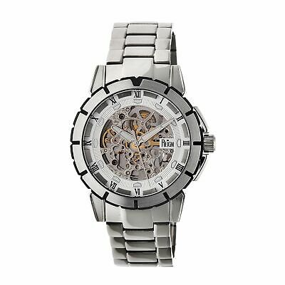 Reign Philippe Automatic Skeleton Dial Bracelet Watch, Silver, REIRN4601