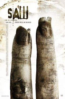 "SAW II 2005 Advance Teaser Ver B DS 2 Sided 27X40"" Movie Poster Tobin Bell Smith"