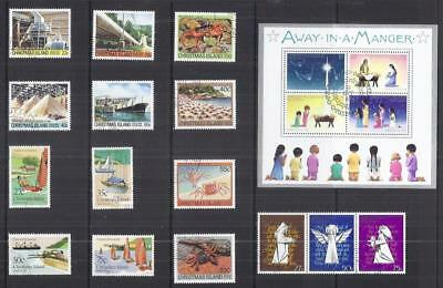 y2685 Christmas Island / A Small Collection  Early & Modern Used