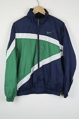 Vintage NIKE 90'S BOLD OLDSCHOOL SHELL JACKET TRACK TOP SIZE SMALL (A320)
