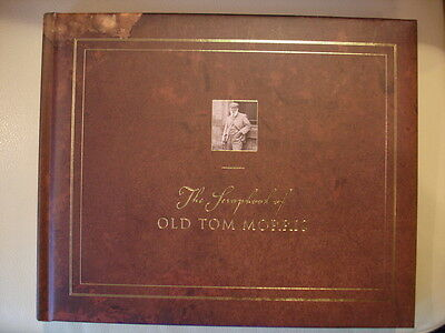 Rare Out Of Print SCRAPBOOK OF OLD TOM MORRIS Amazing 1800s Photographic Archive