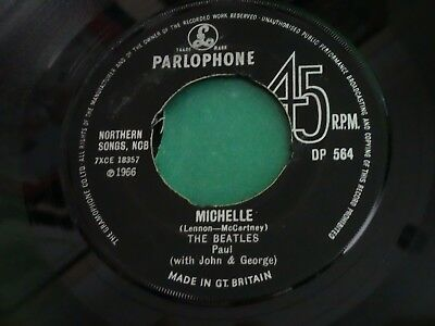 The Beatles - Michelle/Drive My Car - UK Parlophone Export Single