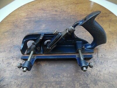 Vintage Record No 778 Rebate Plane with new cutter