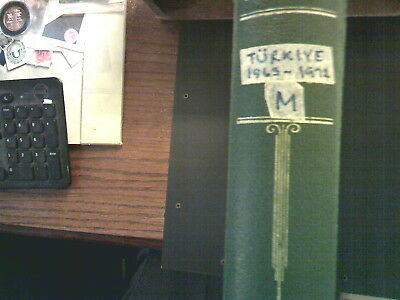 Turkey Collection In Scott Specialty Album, Both Mint An Used
