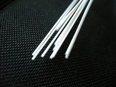 Plastic Styrene Round Rods - (MR-80) -10pcs x 2.0mm x 20cms(200mm)