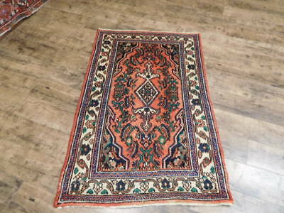 Ca1930s VGDY ANTIQUE PERSIAN LILIHAN MALLAYER SAROUK 2.9x4.5 ESTATE SALE RUG
