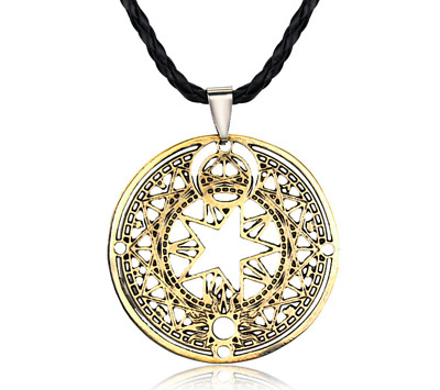 Anime Card Captor Sakura Kinomoto Sakura Magic Circle Metal Necklace Hot New