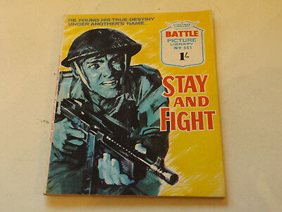 BATTLE PICTURE LIBRARY NO 441,dated 1970!,V GOOD FOR AGE,VERY RARE,47 yrs old.