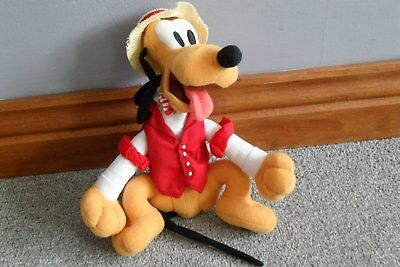 Pluto Bean Bag Toy, new with Tag, dressed as a Quartet Singer