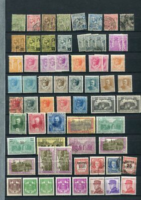 MONACO Early M&U COLLECTION 90 Stamps