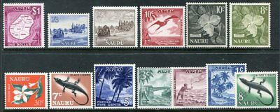 NAURU  58 - 71 Very Nice Mint Light Hinged Set UPTOWN 30900