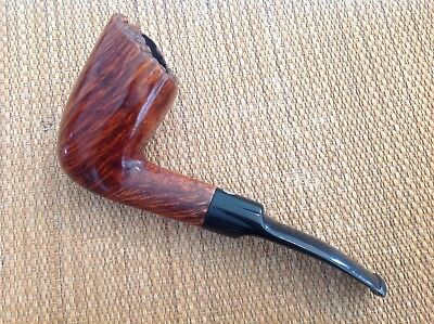 Guido Del Vecchio Freehand Pipe, Nice Grained Briar, Hand Made, Italy!