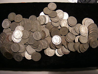 ARGENTINA - Dealers LOT - 215 Coins - 70 to 100 years Old - Mostly VF or Better