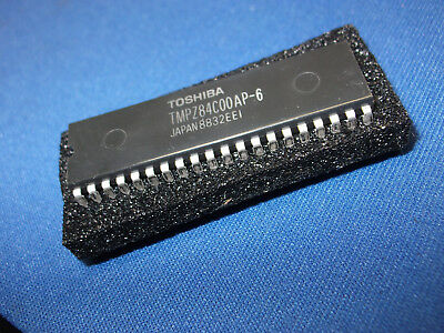 5 Toshiba TMPZ84C00AP-6 Z80A CPU Plastic 40 pins package. Five