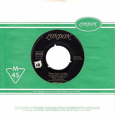 """7""""-  Jerry Lee Lewis =  Great Balls Of Fire / Mean Woman Blues"""