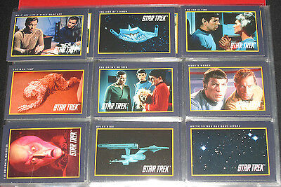 145 Different 1991 Paramount  Impel Star Trek  Collectible Trading Cards + Dupes