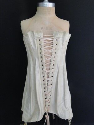Antique  Corset With Lace,ribbon