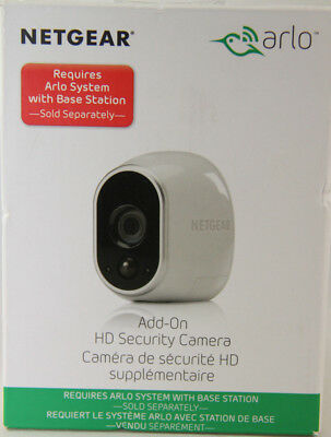 NETGEAR Arlo Indoor/Outdoor 720p Add-On IP Camera - White
