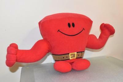 Mr Men Little Miss - Mr Strong -  Talking Soft Plush Toy
