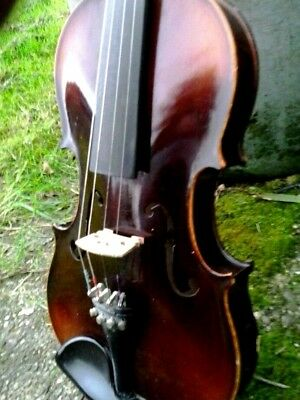 F size violin good order no label in hard case